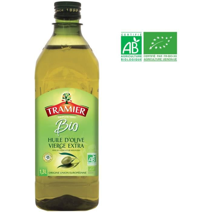 Huile olive extra vierge bio - 1,3 L