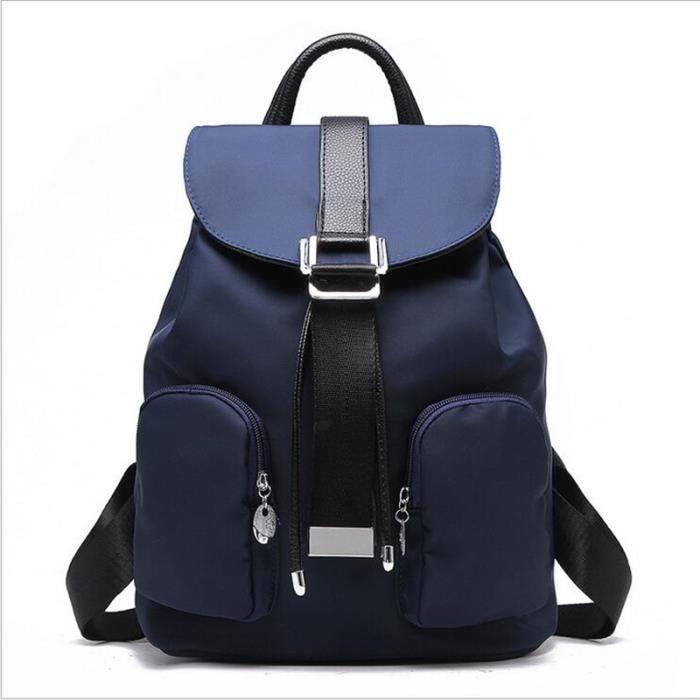 8f906d9abc Sacs à main Sac à dos printemps et en été la mode couleur unie sac à dos  femme petit sac à bandoulière Sacs à Main