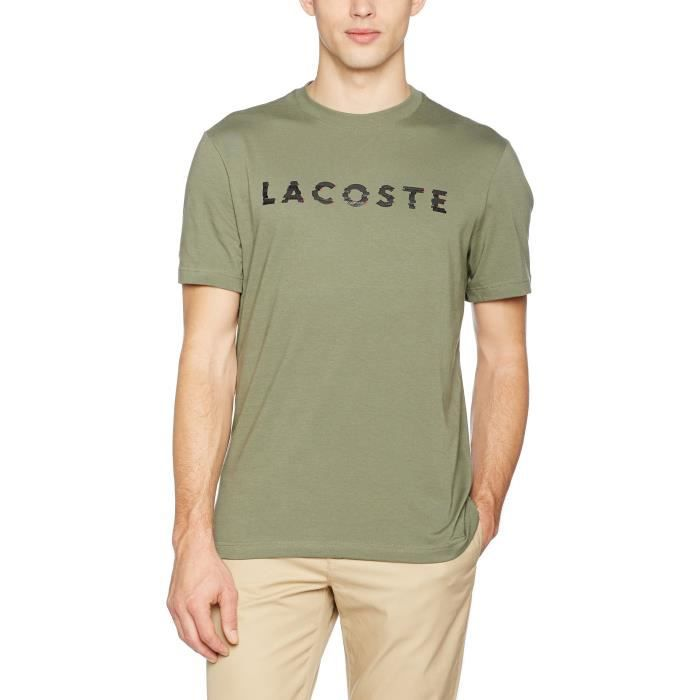 Vente Lacoste T Achat Xl Shirt Homme Taille Vert 1p41rx W2IY9EHD