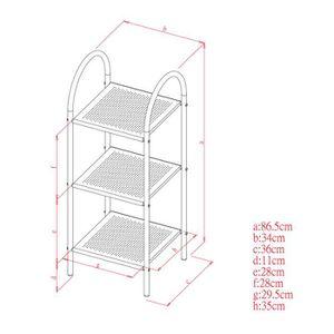 desserte salle de bain achat vente pas cher. Black Bedroom Furniture Sets. Home Design Ideas