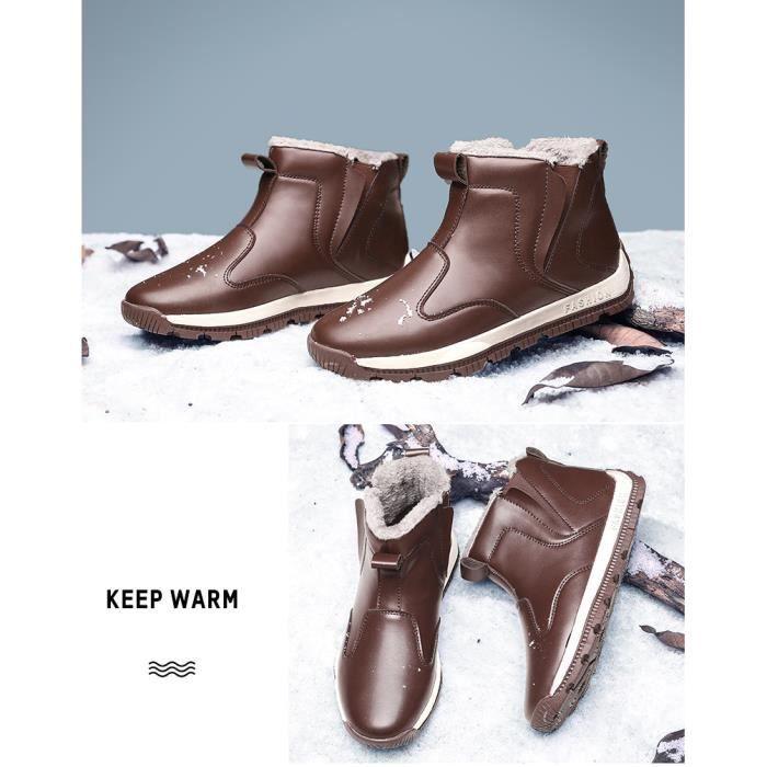 britanniques de Bottes neige d'homme Bottes Bottes de coton d'hiver Bottes Bottes Martin aO7xtdqwP