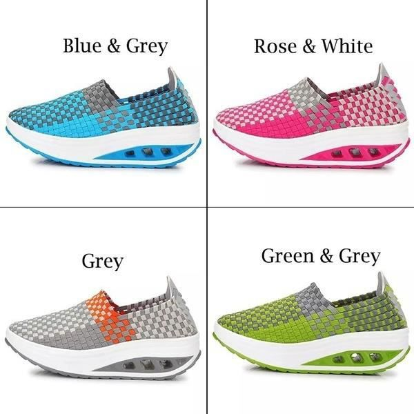 XZ720G5XZ720G5Mode femmes Chaussures de sport Lady Casual Chaussures Secouer Fitness Sport Tissu Mesh Slip-on Chaussures