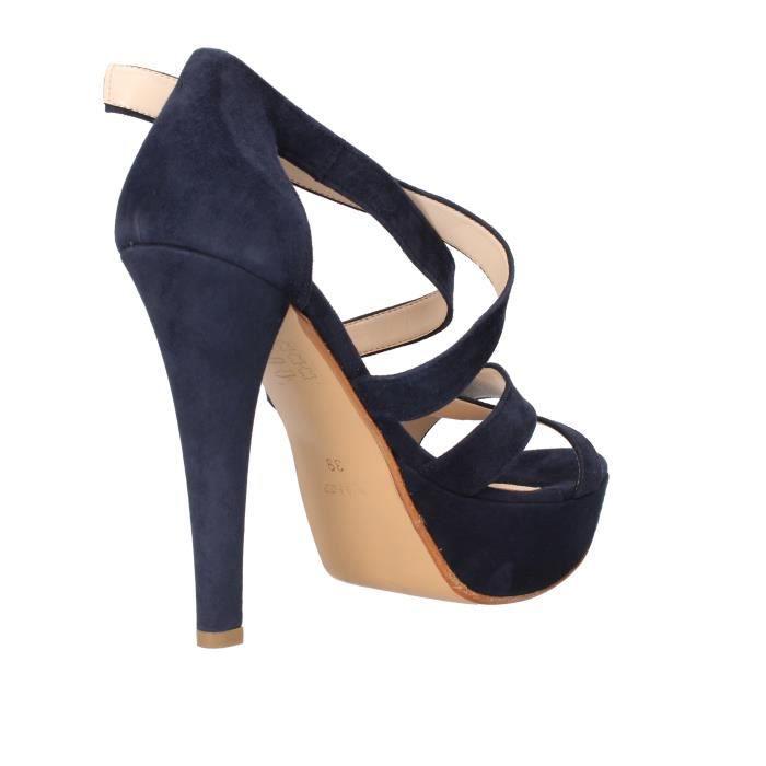 De Femme Daim Bleu Bacta Toi Sandale q8xC7wFEE