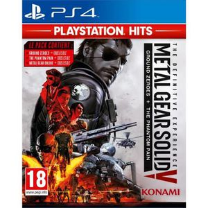 JEU PS4 Metal Gear Solid Definitive Experience Playstation