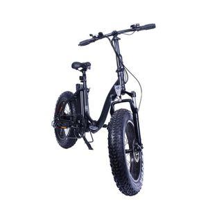 v lo electrique tout chemin black fat bike yadea france prix pas cher soldes d s le 10. Black Bedroom Furniture Sets. Home Design Ideas