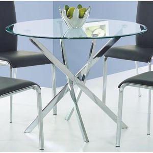 Table A Manger Transparente Achat Vente Pas Cher