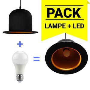 lustre chapeau achat vente lustre chapeau pas cher cdiscount. Black Bedroom Furniture Sets. Home Design Ideas