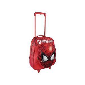 CARTABLE Cartable 3D avec roulettes Spiderman 378