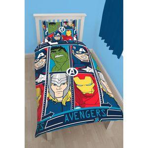 HOUSSE DE COUETTE SEULE Parure de lit Avengers -  Housse de couette révers