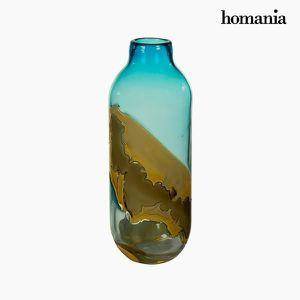 VASE - SOLIFLORE Vase en Verre fait main (12 x 12 x 33 cm) - Objet