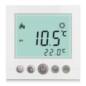 THERMOSTAT D'AMBIANCE Finether C16.GH3 16A Thermostat d'Ambiance Régulat