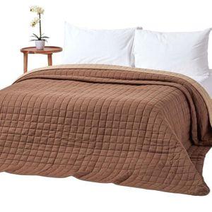 couvre lits achat vente couvre lits pas cher soldes d s le 10 janvier cdiscount. Black Bedroom Furniture Sets. Home Design Ideas