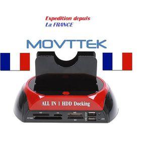 STATION D'ACCUEIL  MOVTTEK® Station Accueil Dock pour Disque Dur 2.5