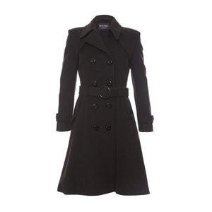 e1ea1833a6 Manteau femme laine et cachemire de la creme - Achat / Vente pas cher