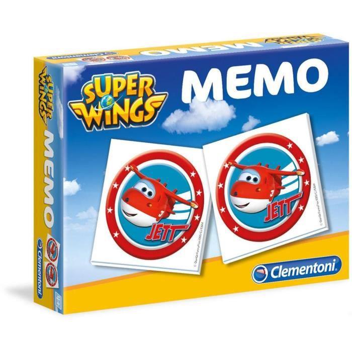 SUPER WINGS Memo Clementoni