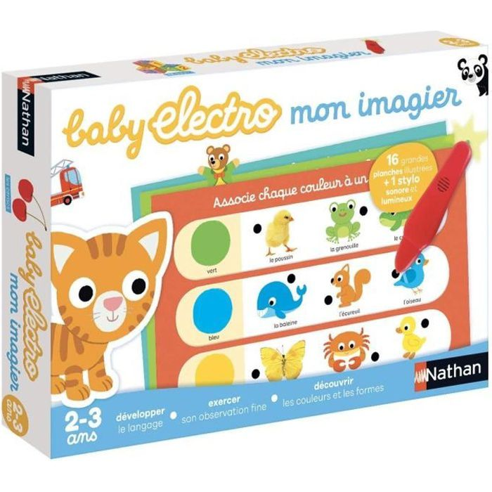 NATHAN Baby Electro - Premier Imagier