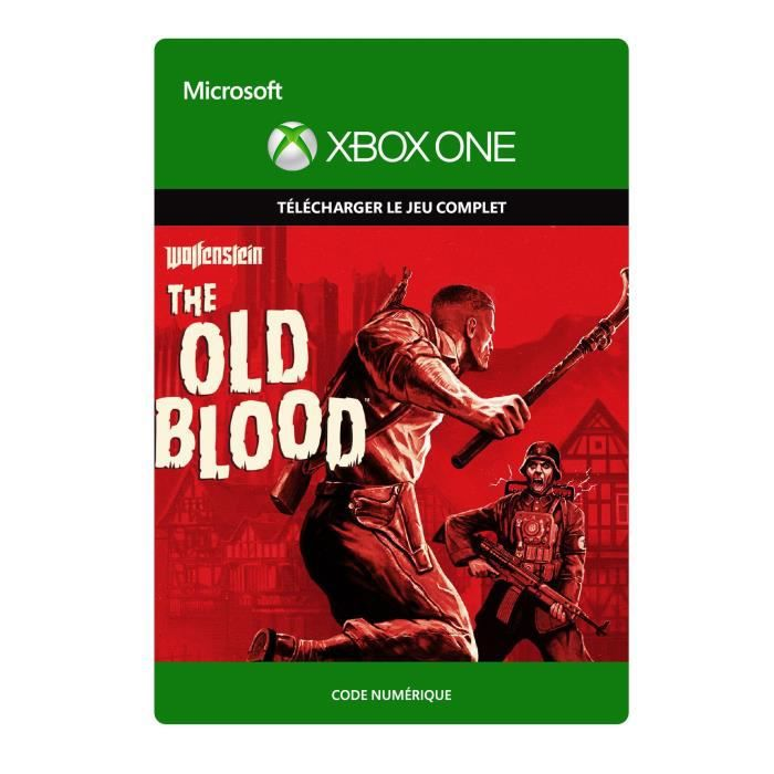 Wolfenstein - The Old Blood Jeu Xbox One à télécharger