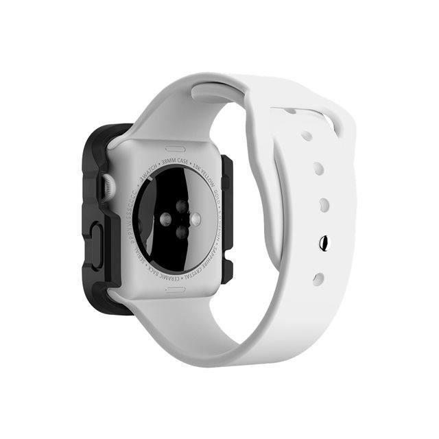 GRIFFIN Survivor Tactical Boitier de protection pour montre connectée - Compatible Apple Watch (42mm) - Blanc