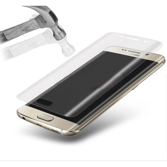 PLATYNE Vitre de protection en verre trempé pour Samsung Galaxy S7