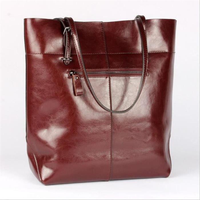 Marque Rouge1 Nouvelle Couleur Sac Plus Cuir De Femme A Mode dBqvgwq