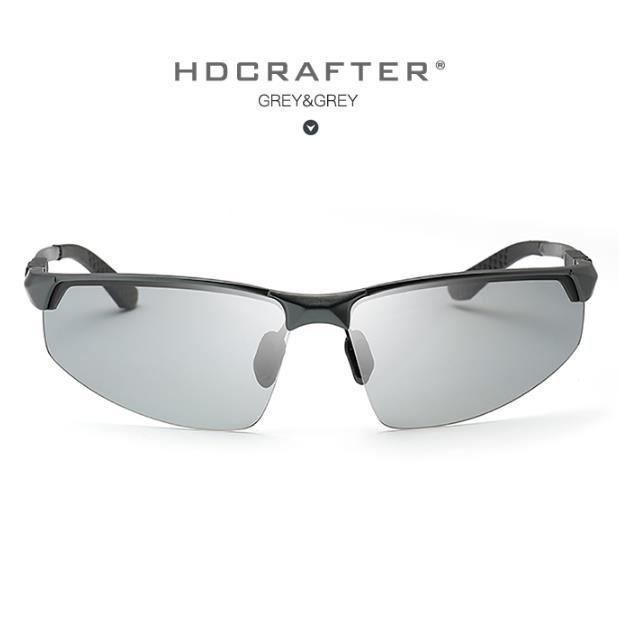 e08be853a07838 otochromiques hommes polarisés nouveau sport conduite en aluminium en  magnésium lentille polaroïd lunettes de soleil hommes motard2