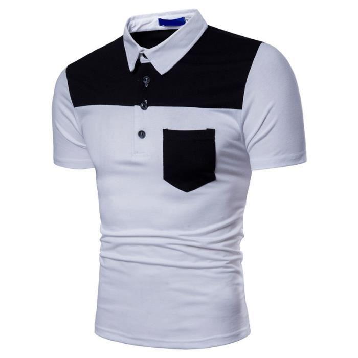 a04c1be982b31 2018 nouveau POLO homme - Tee shirt homme pour l'été - manches ...