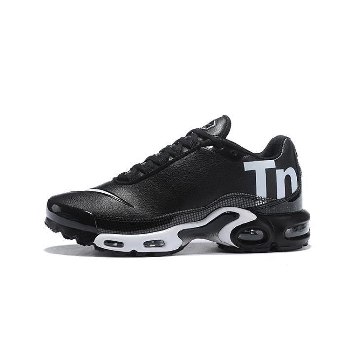 62e4470e43502 Nike Air Max Plus Tn Chaussure pour Homme Femme NOIR BLANC - Achat ...