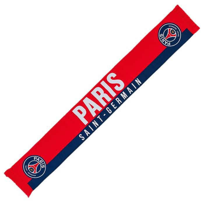 777ca3fed276 ECHARPE - FOULARD PSG - Echarpe PSG  Paris  Officielle - Rouge aille