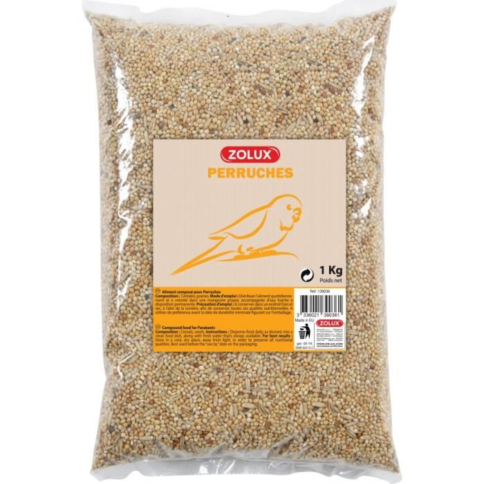 GRAINES Aliments Composes Perruches Coussin 5Kg