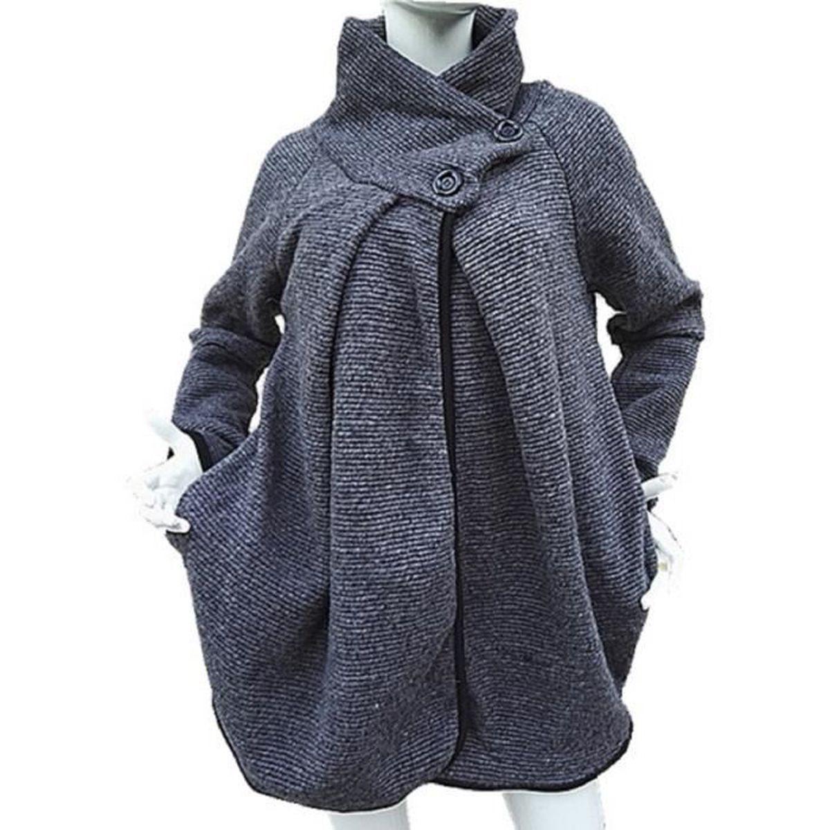 veste hiver femme taille 48 mode europ enne 2018 2019. Black Bedroom Furniture Sets. Home Design Ideas