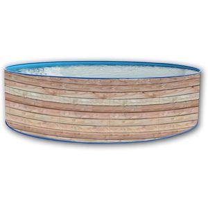 PINUS Piscine ronde en acier 450x90cm