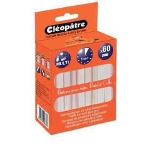 COLLE - PATE ADHESIVE Cléopâtre PO60RCT Colle Transparent