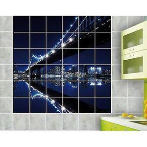 stickers faience salle de bain achat vente pas cher. Black Bedroom Furniture Sets. Home Design Ideas
