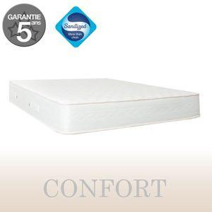 MATELAS Matelas Confort 160x200 cm, 18 cm d'épaisseur, 2 p