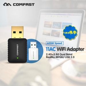 CARTE RÉSEAU  Pas Cher! Cf-915ac Mini-Ac600 Mini Usb Wi-Fi Wi Fi