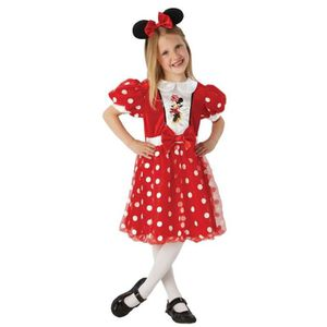CHAUSSON - PANTOUFLE Minnie Mouse - Enfants Costume Carnival Glitter Mo