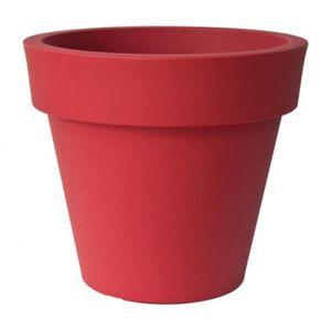 Pot Ikon 120 Rouge Orient Achat Vente Jardiniere Pot Fleur Pot