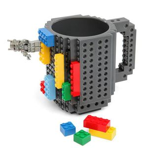 Verre à eau - Soda blocs de construction de bricolage tasse de café e