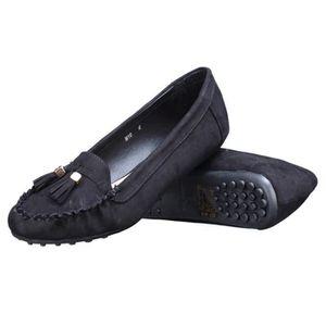 MOCASSIN Mocassin femme Lily shoes M10 Noir