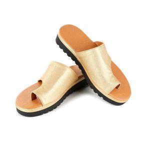 SANDALE - NU-PIEDS Chaussures de Plage d'été,Femmes Plate-Forme Sanda