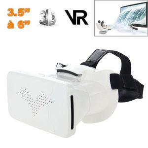 CASQUE RÉALITÉ VIRTUELLE Casque réalité virtuelle 3D VR universel smartphon