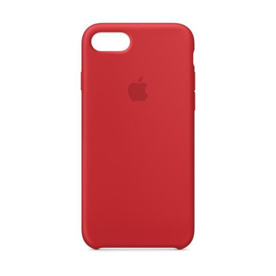 2842658bb8f Coque en silicone pour iPhone 8 / 7 - (PRODUCT)RED