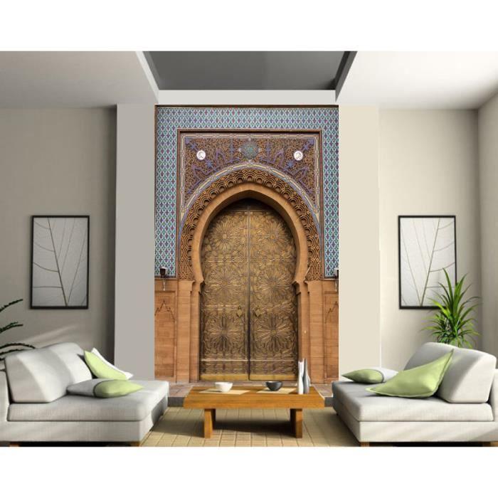 Papier Peint Grande Largeur Porte Palais Orient Achat Vente