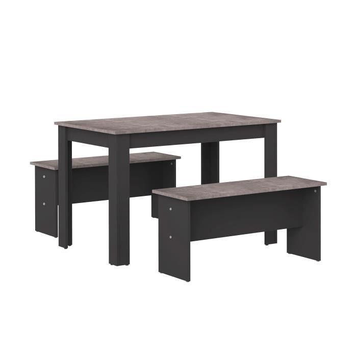Ensemble Table 2 Bancs Achat Vente Pas Cher
