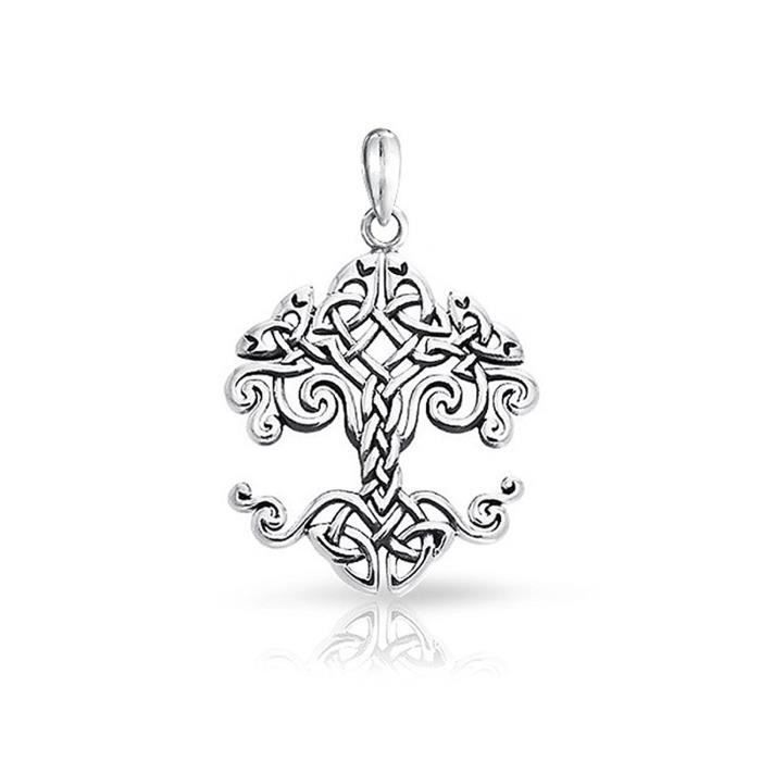 Bling Petits Bijoux Celtiques Noeud Arbre De Vie Argent Sterling Poignée