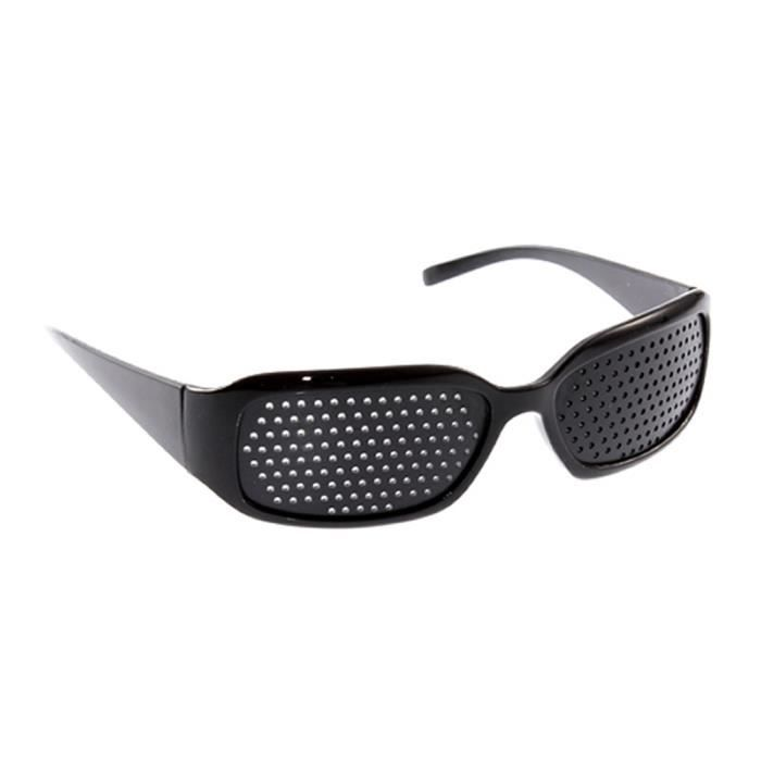 762f5fbbc26c45 Lunette avec petits verres de trou soins de la vue vue d exercice ...