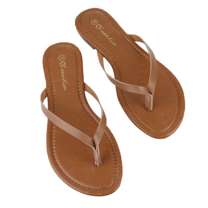 GEMVIE Tongs Sandales Femme Fille Chaussures Antidérapant Confortable Eté w3NB5P