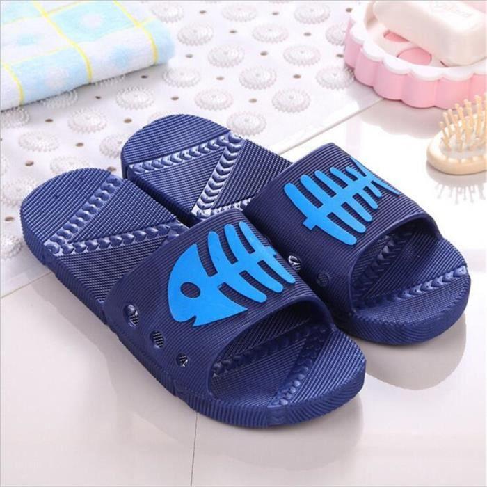 9548cd97ddfcb Pantoufle Tongs Grande De Plat 40 45 Massant Sandale Luxe Chaussures Taille Hommes  Marque Luxe Marque ...
