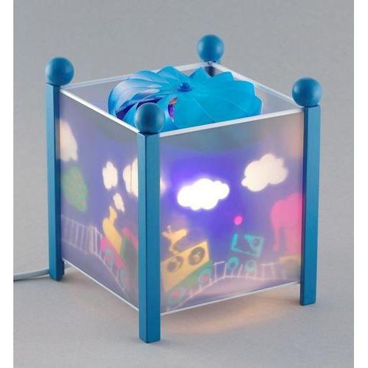 trousselier lanterne magique train bleu achat vente veilleuse b b 3457010043379 cdiscount. Black Bedroom Furniture Sets. Home Design Ideas