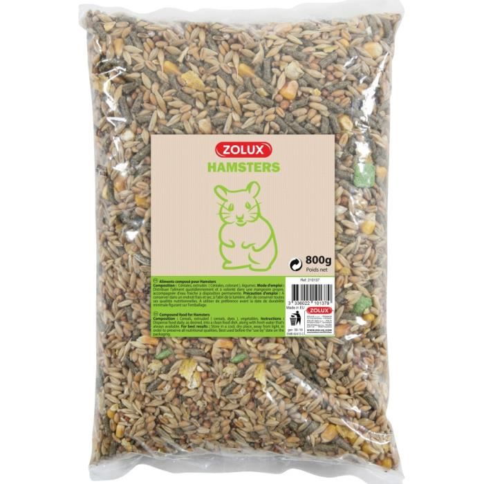 GRAINES Aliments Composes Hamsters Coussin 0,8Kg
